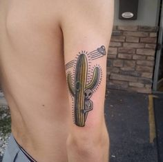 Cactus Tattoo Design by Glen Coit