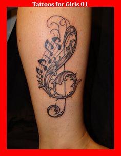 Tattoos for Girls 01