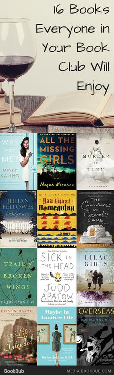 These book club book and book club ideas are sure to please everyone in your book club! Including a list of great books for women, too.