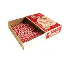 Penny Candy Sticks Peppermint Stick Candy Striped Vintage NOS 1950s ...