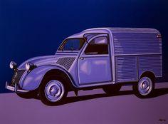 Citroen 2CV AZU 1957 Painting