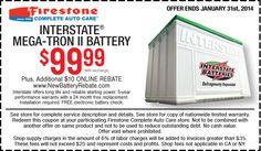 Sanford Firestone supplies Interstate Batteries with the brand's