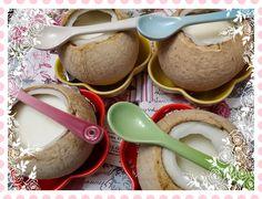 concon 煮意 blog: 蛋白鮮奶燉椰皇 - 附食譜