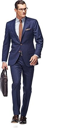 This site has tons of modern cut suits for reasonable prices.