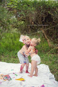 Kari Elizabeth Photography- paint mini session