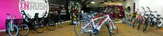 INRUSH bicycles Fort Wayne Indiana bike shop.