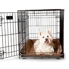 "K&h Pet Products Memory Foam Crate Pad X-Large Mocha (Brown) 32"" x 48"""