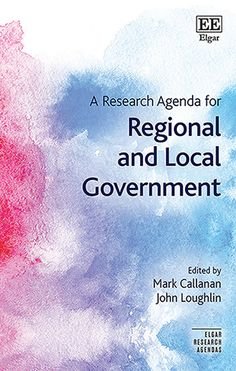 A research agenda for regional and local government Edward Elgar Publishing, 2021 Regional, Research, Science, Search, Science Inquiry