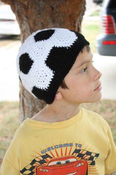 Soccer ball infant beanie crochet tutorial free tutorial crochet soccer ball beanie kids hatscrochet beaniehat patternscrochet dt1010fo