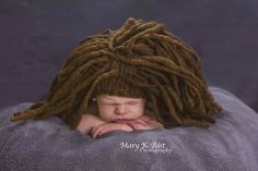 Ravelry: Marley Dreadlock Baby Hat pattern by Tracie Taggart