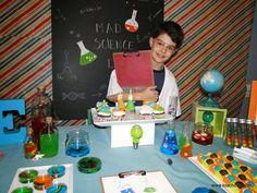 Mad Science Party  Einstein Party Science Cientista