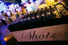 Tequila Shots - Great for a Mexican-Themed party!