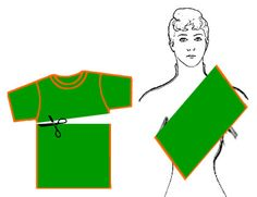 No sew baby sling out of a tshirt!