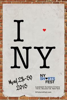 Film Festival Posters: New York International Short Film Festival 2013