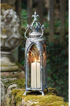 Lantern Lamp, Candle Lanterns, Candle Sconces, Oil Lamps, Shabby Chic Furniture, Fairy Lights, Lamp Light, Light Fixtures, Decoration