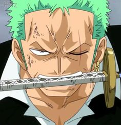 zoro from the one piece anime