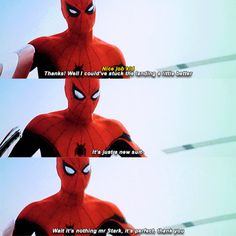 Captain America: Civil War. Spidey was honestly one of my favorite characters in this movie.