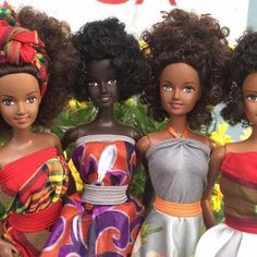 Hot: The Adorable Natural-Haired Dolls We've All Been Waiting For