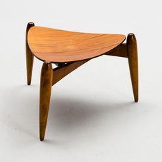 ILMARI TAPIOVAARA Chair Bench, Stool, Wooden Chairs, Diy Hacks, Benches, 1950s, Mid Century, Furniture, Vintage
