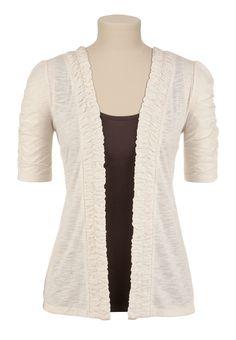 Love the longer sleeves!