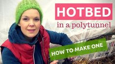 How to make a hot bed in a Polyunnel. How to grow your own vegetables during the winter season in a Nordic climate. How to become self-sufficient in less than 1 acre. Growing Winter Vegetables, Growing Veggies, Harvest Season, Winter Season, How To Make Bed, How To Become, Cabbage Plant, Growing Onions