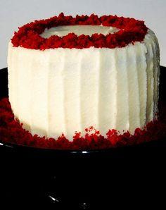 2013 Homemade Red Velvet Christmas Cake, Top Christmas Dessert Recipe #2013 #christmas #food www.loveitsomuch.com