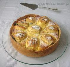 Los Postres del Domingo: Tarta de manzana y requesón