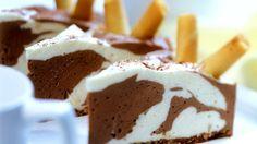 Schnelle Mousse au chocolat-Torte