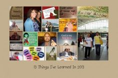 13 Things I've Learned In 2013