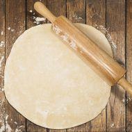 Fotografie receptu: Tenké těsto na pizzu