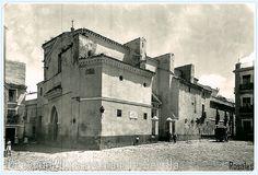 Fotografía de 1937.-La iglesia de San Martín de Sevilla es uno de los templos más antiguos de la ciudad. Es la sede de la Hermandad de la Lanzada.