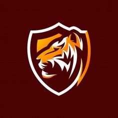 Tiger logo design ready to use Cheetah Logo, Call Duty Black Ops, Tiger Illustration, Logo Samples, Tiger Logo, Game Logo Design, Sports Team Logos, Tiger Art, Mascot Design