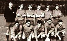 EQUIPOS DE FÚTBOL: SELECCIÓN DE ESPAÑA 1968-69