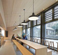 Stone barn refurbished to create university library by John McAslan + Partners