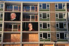 Urban renovation art in Amsterdam.