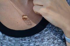 Roman Empress Charm Necklace @thepeachbox