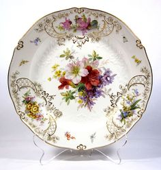 Meissen Floral Charger