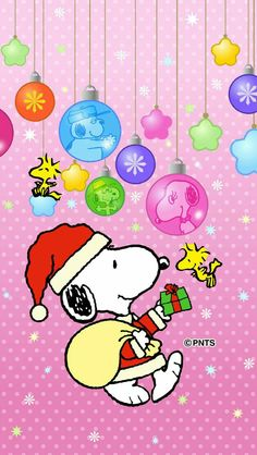 Snoopy ❤ ⭐☃Merry Christmas