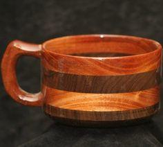 Handcrafted Wood Bowl Mahogany by WondrousWorksInWood on Etsy, $43.00