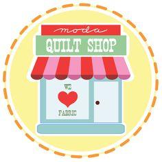Clique na imagem para se inscrever para ser um Moda Destaque Quilt Shop no nosso blog.