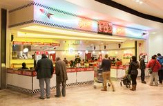 Ed's Easy Diner – Wandsworth Diner. Southside Shopping Centre has enjoyed significant upgrading in recent years, and Ed's is conveniently located in front of the cinema, and as you exit the car-park and come into the Centre. Perfect for a break in shopping, or just before a movie.  All of this Diner's mini-jukebox money goes to Ed's central charity fund. Please see the 'About us' section of our website for details