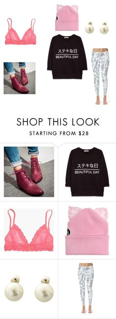 """""""lazy"""" by bilollipop ❤ liked on Polyvore featuring Sidewalk, MANGO, Madewell, Silver Spoon Attire and Christian Dior"""