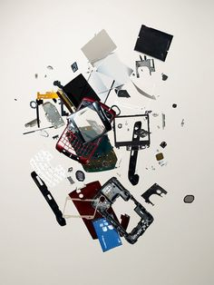 2: Smartphone, 2007 | A Photographer Finds Order And Chaos In Disassembled Gadgets | Co.Design: business + innovation + design