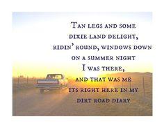 Luke Bryan - dirt road diary