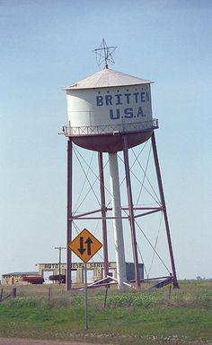 Route 66 Fine Art Photography - Leaning Water Tower, Groom, Texas.--- my momma is from groom