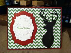 Stampin up warm winter wishes
