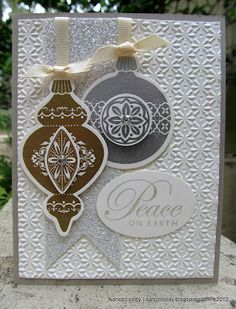 Stampin' Up! Christmas   By Nance Leady at Canopy Crafts