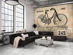 Fotomural a medida Old School Bicycle