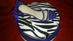 Zapato en torta