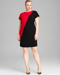 bb dakota plus size hallows fit and flare dress at bloomingdale's